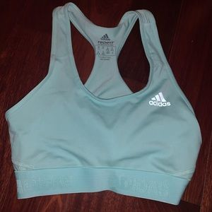 Adidas Women's Green Sports Bra